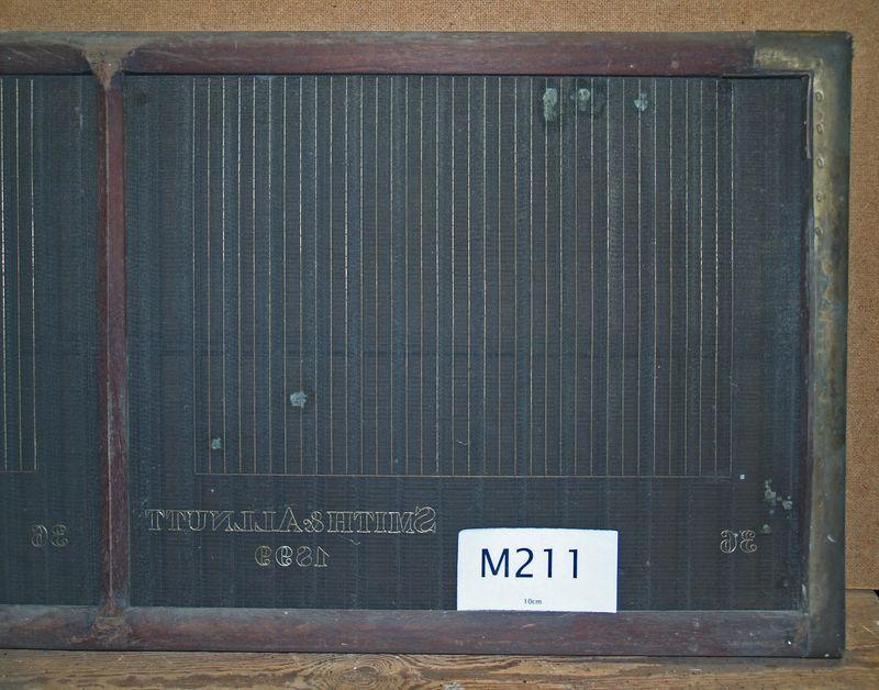 M211b Smith & Allnutt 1899 36 Ruled