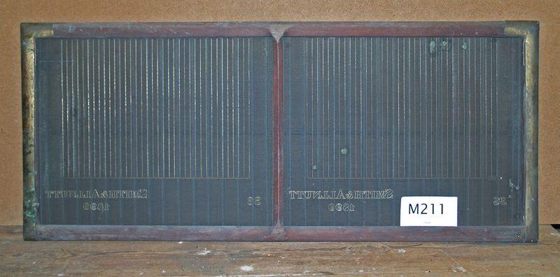 M211a Smith & Allnutt 1899 36 Ruled