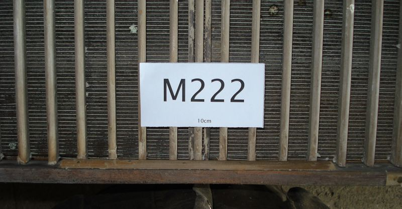 M222d - Very tired laid moulds