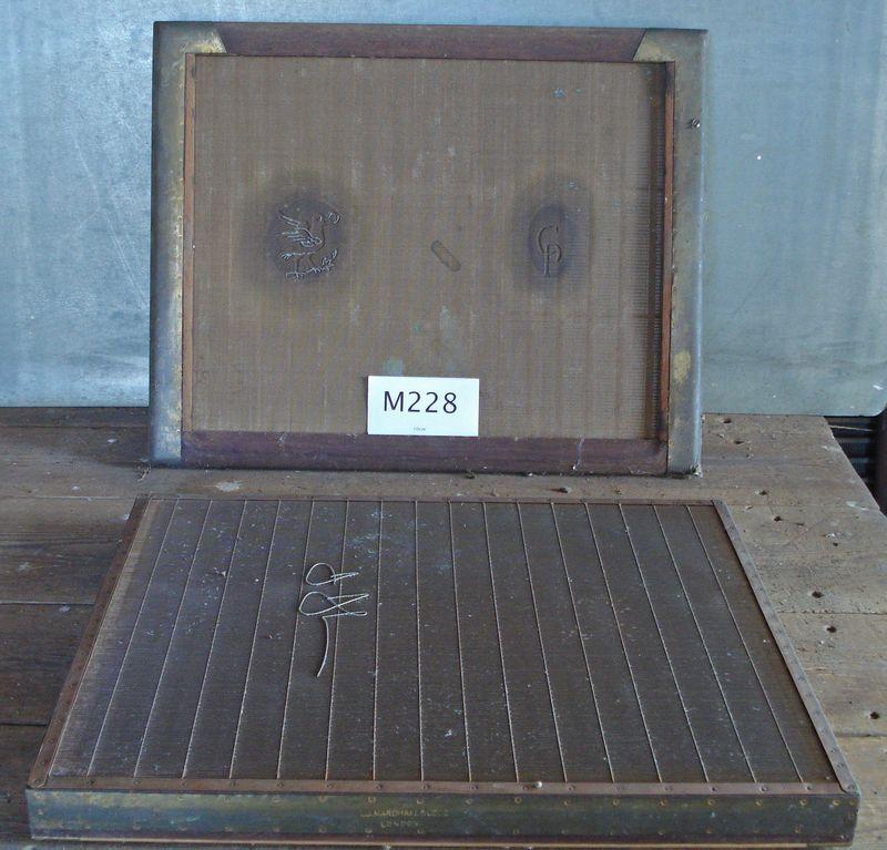 M228a - Pair of moulds