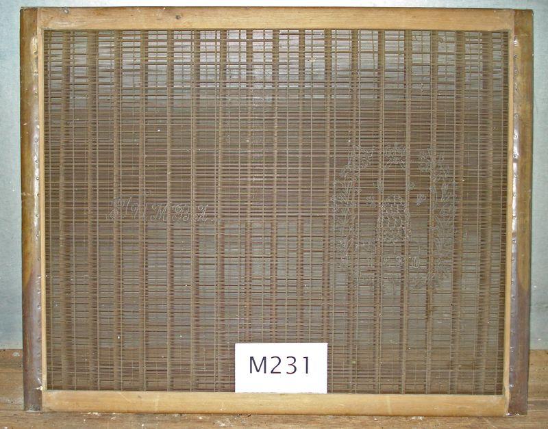 M231a Whole mould light