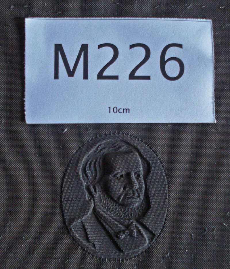 M226a Close-up of the watermark