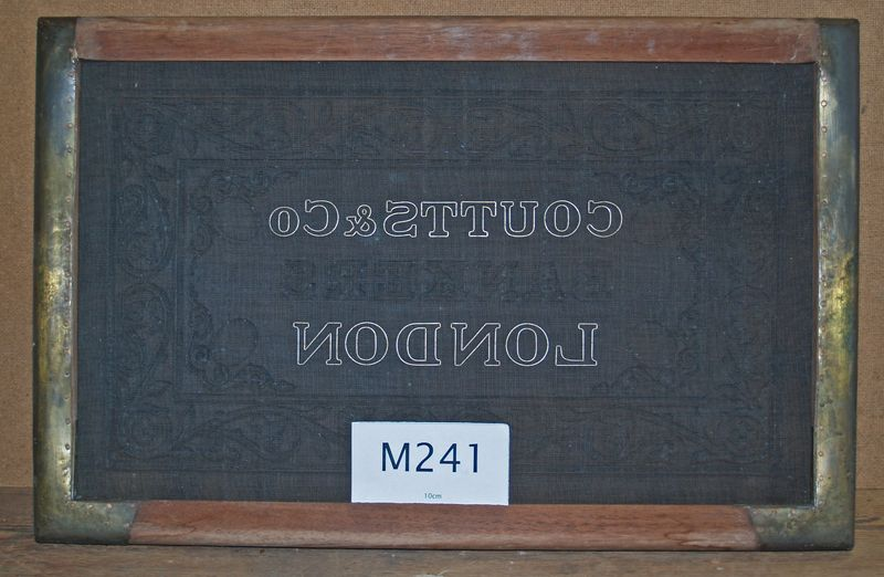 M241a Coutts & Co London face on