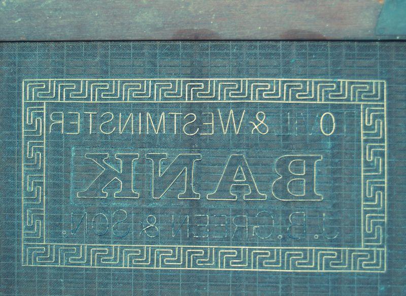 M261c J B Green & Son bank note sampler - Tovil & Westminster Bank
