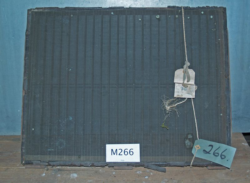 M266a Wove mould with leather roll deckle