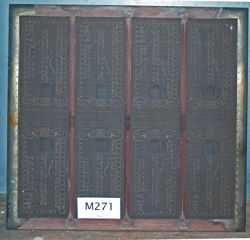 M271b Single mould