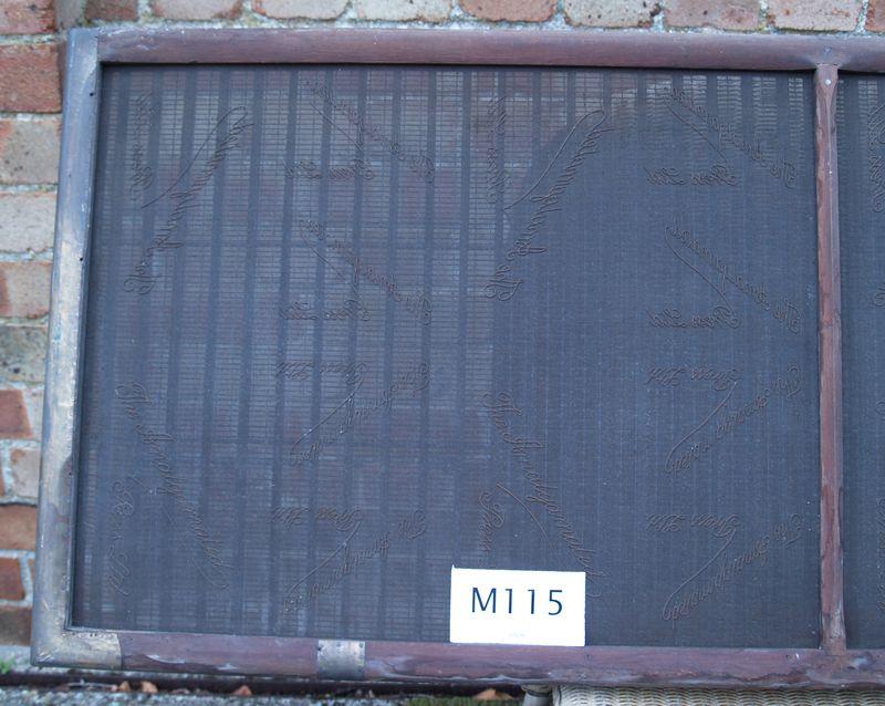 M115b Single sheet