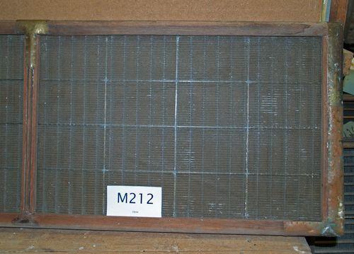 M212b Card moulds