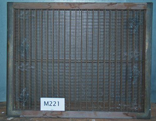 M221a Bull's Head on very coarse wove