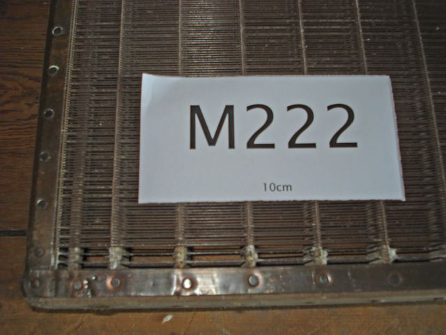 M222b - Very tired laid moulds